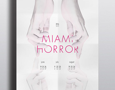 Miami Horror: Concert Tour Poster