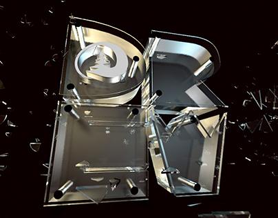 Glass Typography / Стеклянные Буквы