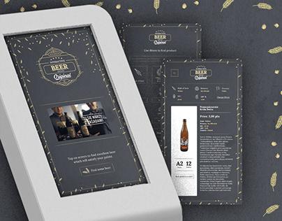 Interactive Customer Advisor - Beer