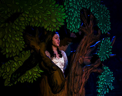 "Set Design, Painting, and Dressing ""Into the Woods"""