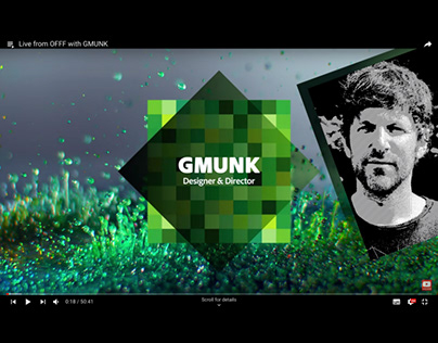 Live from OFFF with GMUNK
