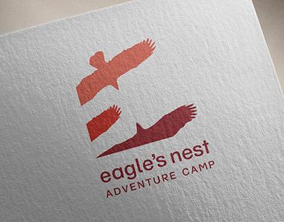 Eagle's Nest Campsite 2010 Logo & Corporate Branding