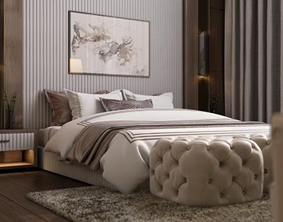 Saudi Arabia master bedroom