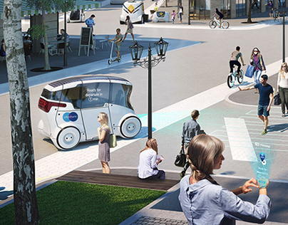 Moovel - Multimodal Urban Scenario