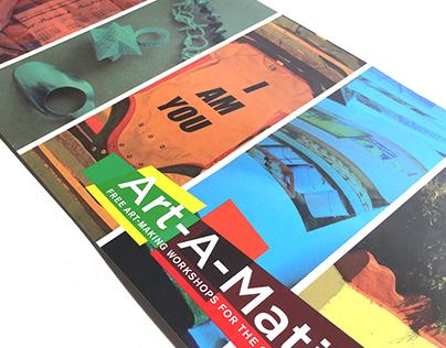 Art-A-Matic Postcard
