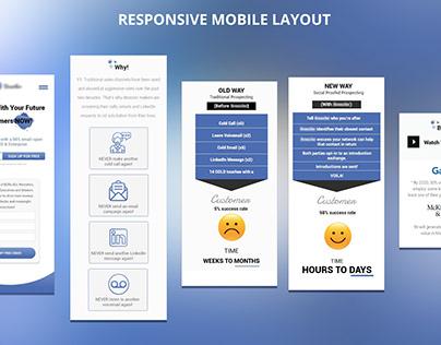 Product Website Design