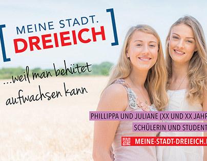 Image Kampagne der Stadt DREIEICH 2015