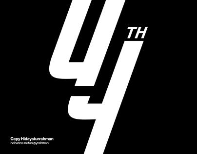 Indocement 44th Anniversary Logo | Unofficial Logo