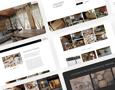 Baita del Cain: Website Design for a hut in Italy