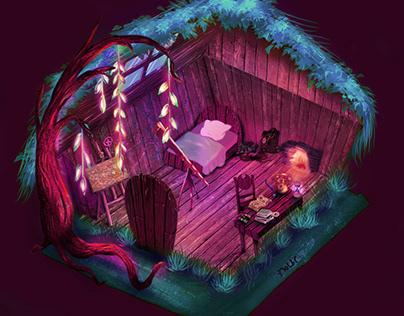Explorer's room