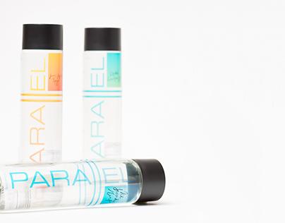 Parallel water bottles