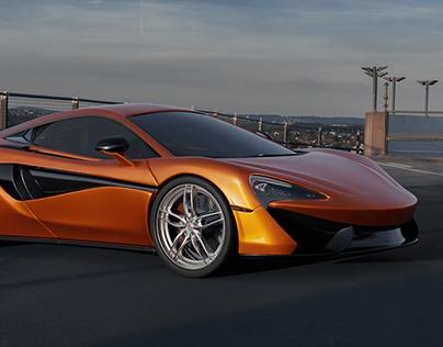 McLaren 570S | 3D Modeling - Blender3D