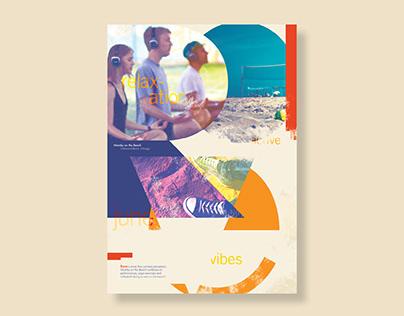Rave Typographic Poster