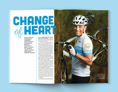 """Change of Heart"" Magazine Feature"