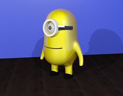 Minion 3D Max Model Design