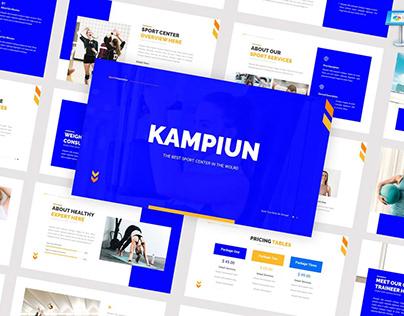 Kampiun Presentation Template