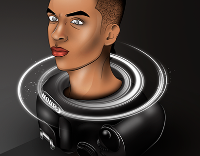 TIMELAPSE / CANON HUMAN LENS BY. @SONGARTWORK