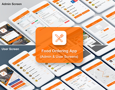 Food-Restaurant-Ordering-App-UI-Kit-(Admin-User)