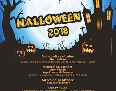 Locandina Halloween 2018