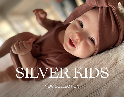 Redesign of the online store | Silver Kids brand