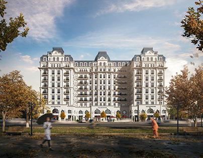 """Residential complex """"KAZAKHSTAN"""""""