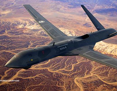 Military Drone Concept Art