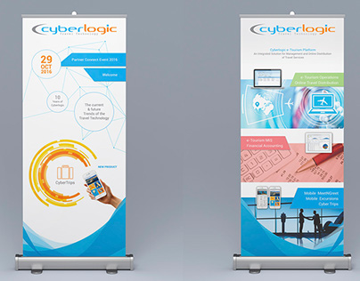 Cyberlogic | Product Branding - Infographics - Cards