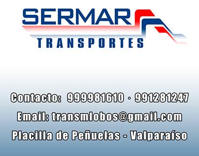 Pendón Transportes SERMAR