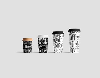 Affogato Luxury Coffee & Gelato Brand Identity