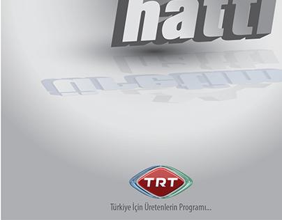 TRT HABER PROGRAMI  /   LOGO TASARIM