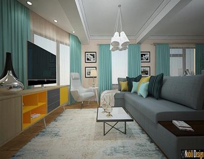 Modern interior design living