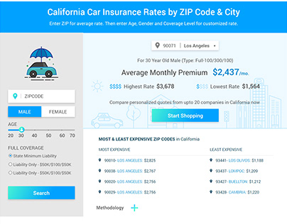 Car Insurance State Page