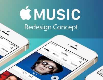 Apple Music - Redesign Concept (With Demo Video)