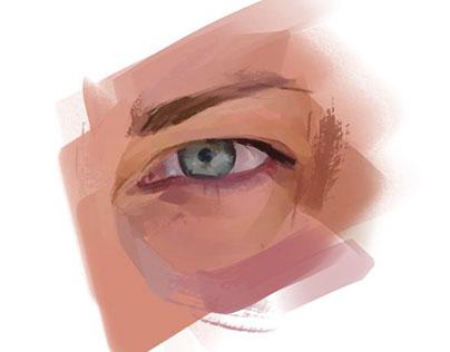 eye studies / color and light