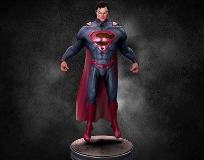 Superman Concept Model