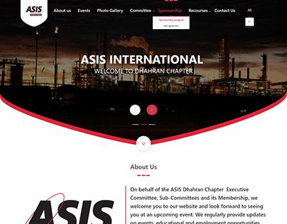 ASIS تصميم موقع