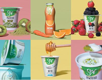 SER Yogurt Compositions