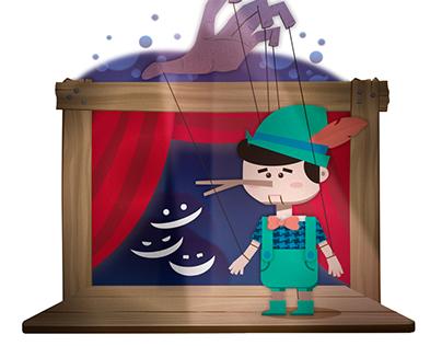 Ilustración Digital | Pinocho // Pinocchio
