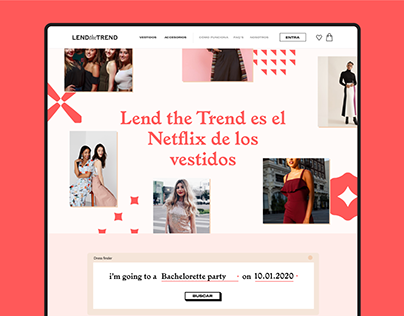 Lend the Trend UI/UX