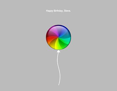 Happy Birthday Steve Jobs!