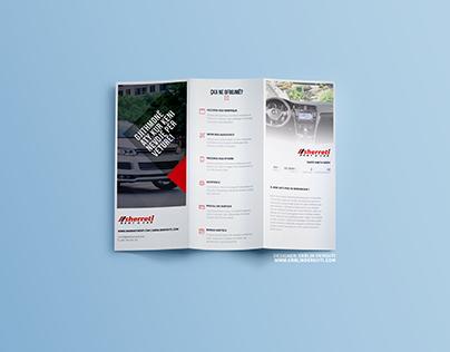 Sherreti Rent a Car - Brochure Re-design