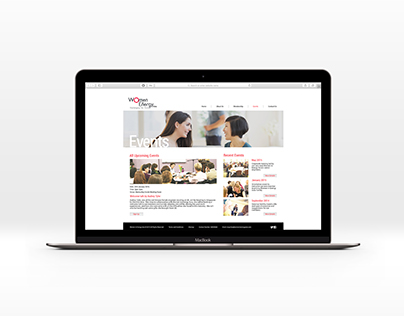 Website Design - Women in Energy Asia
