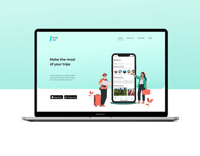 Travel UNO - Webpage
