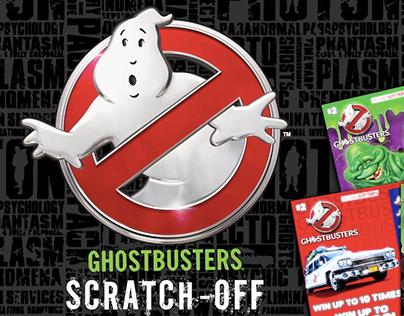 Hoosier Lottery - Ghostbusters Scratch-off