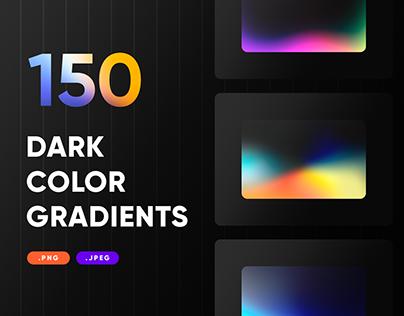 150 Dark Gradients Collection - PNG