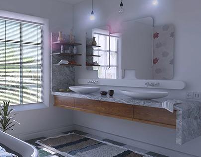 Conceptual Bathroom