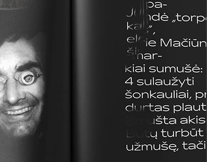 Jurgis Mačiūnas. Konceptualus biografinis žurnalas