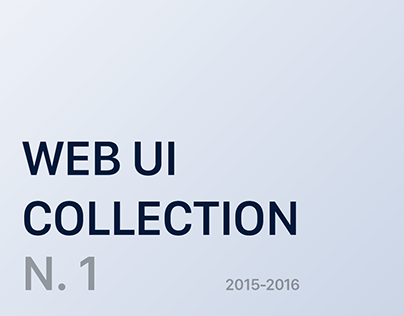 Web UI collection