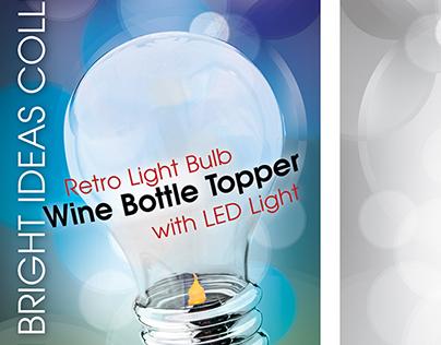 Bottle Topper Retail Packaging