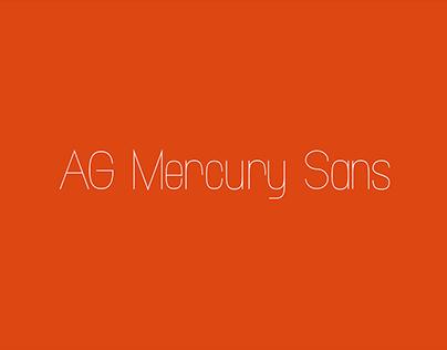 AG Mercury Sans